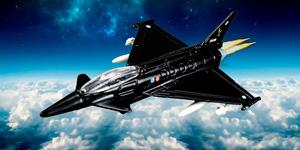 Новые видео для детей.  Игрушки для мальчиков.  Истребитель Eurofighter Typhoon.